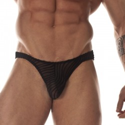 Transparent Printed Fabric Brief