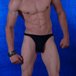 Mens Sheer Thong
