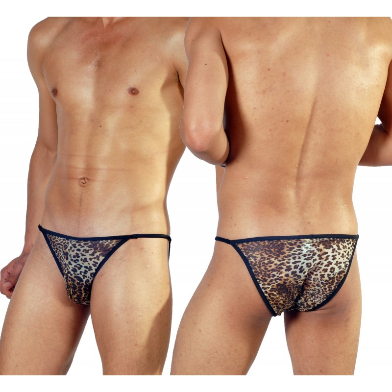 Leopard Sheer Underwear