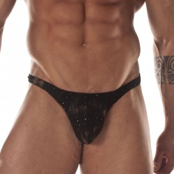 Printed Fabric Thong For Men