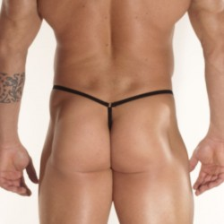 Sheer Leopard Pouch G String