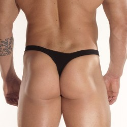 Black Mikro Men's Thong